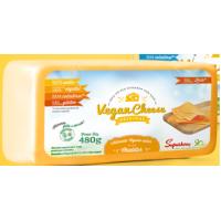 Queijo Vegan cheese Cheddar  480g ( und)