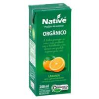 Suco Orgânico Laranja 200ml  - Native  (Unid)